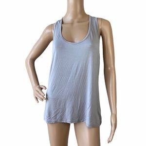 New Women's Knotted Racerback Tank Top Size M
